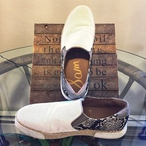 Sam Edelman Slip On Sneaker with Espadrille Look